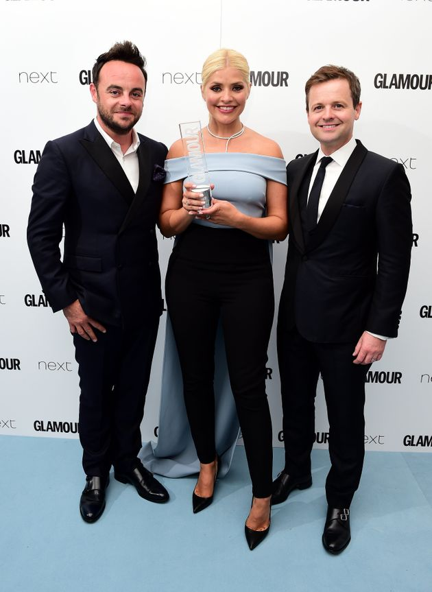 Anthony McPartlin, Holly Willoughbyh and Declan