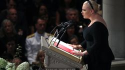 'America Was Always Great' – Meghan McCain Takes Aim At Trump In Eulogy For Her