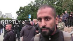 Russland-Sender interviewt in Chemnitz Merkel-kritischen Migranten – und verrät nicht, wer er ist