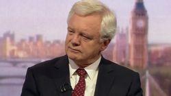 David Davis Blasts Theresa May's Brexit Plan As 'Almost Worse' Than EU