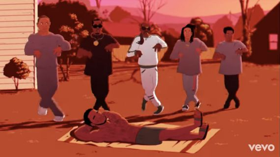 Childish Gambino's 'Feels Like Summer' Video Imagines Kanye West, Rihanna As