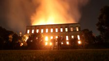 Brazil's 200-Year-Old National Museum Engulfed By Flames