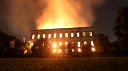 Brazil's 200-Year-Old National Museum Engulfed By