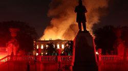 «Χάθηκαν 200 χρόνια...» σε μια νύχτα. Καταστροφική φωτιά στο Εθνικό Μουσείο του Ρίο ντε Τζανέιρο με τα 20εκατ εκθέματα