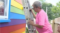 Couple Paint Home In Pride Flag Colors After Neighbours Allegedly Use Homophobic