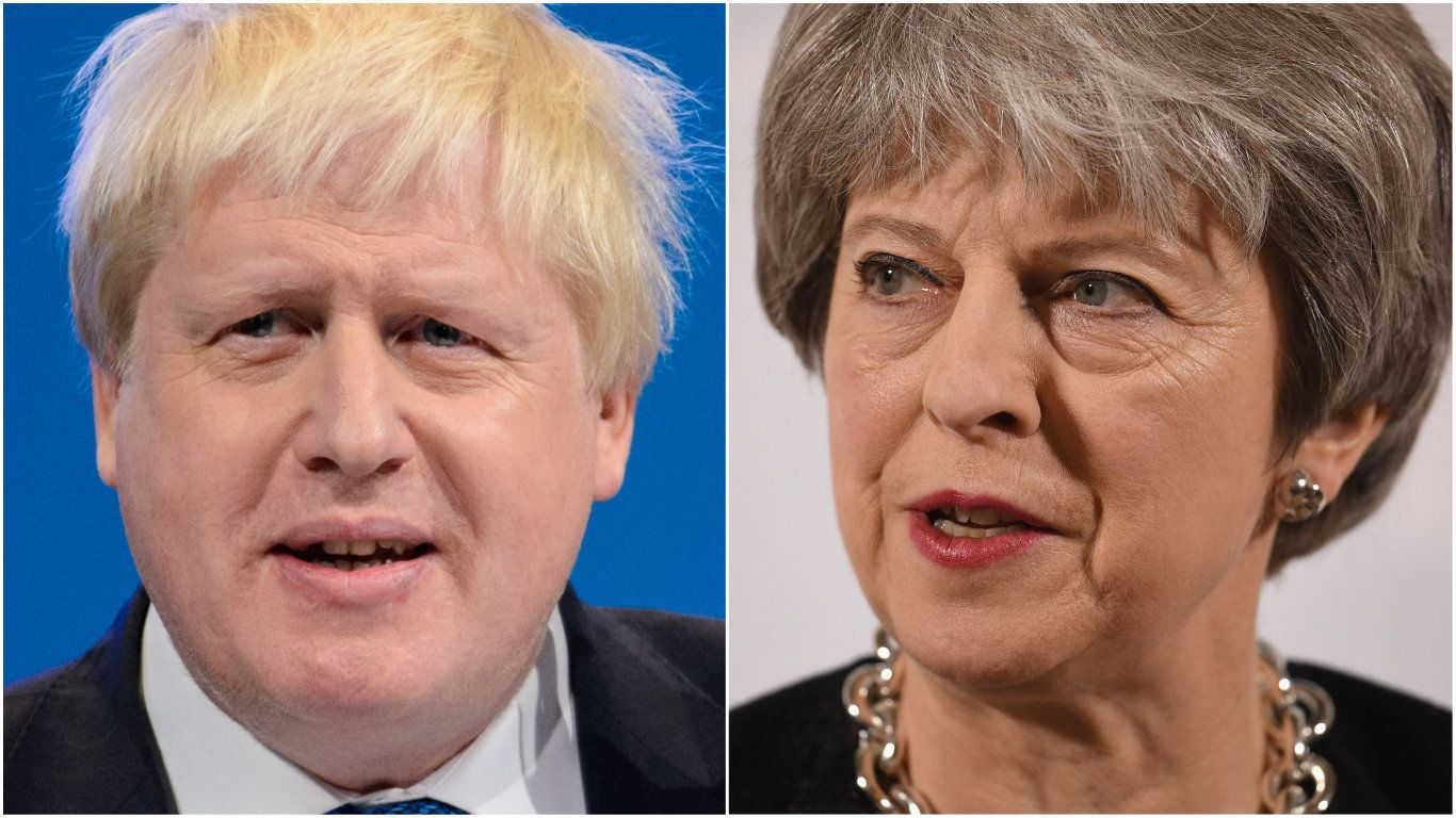 Boris Johnson has savaged Prime Minister Theresa May's Chequers Brexit