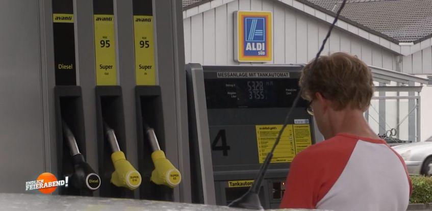 Aldi eröffnet Billig-Tankstellen – so günstig ist das