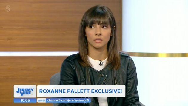 Roxanne Pallett gave her first interview on Jeremy Vine's new Channel 5