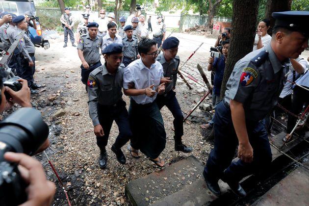Birmanie: deux journalistes de Reuters condamnés pour avoir enquêté sur l'assassinat de
