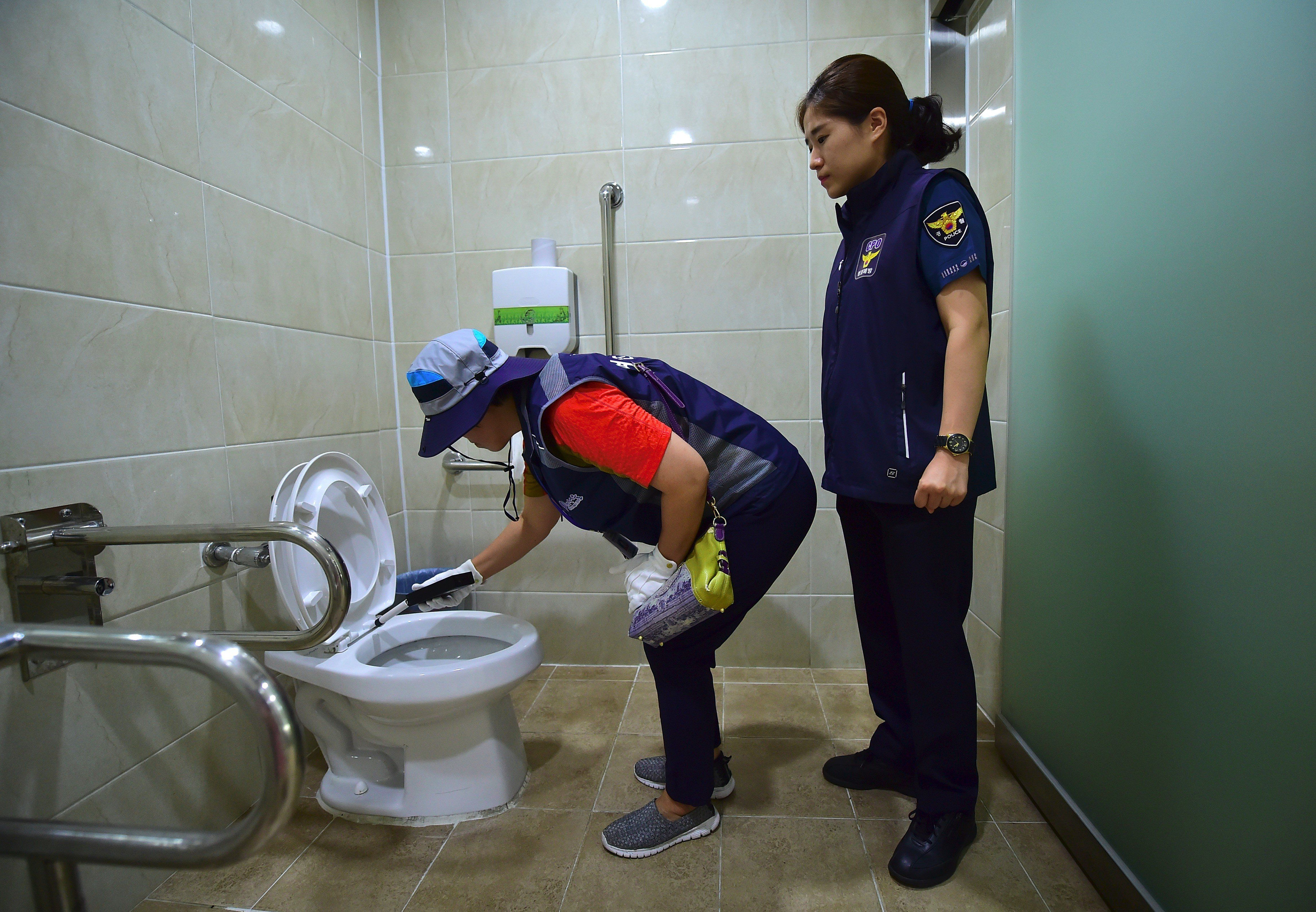 Seoul Public Toilets To Be Checked Daily For Hidden Cameras In Bid To Combat 'Spy Cam
