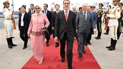 Saad-Eddine El Othmani et sa femme sont arrivés à Pékin