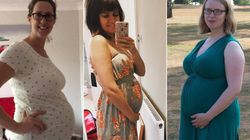 Siestas, Cold Flannels and Paddling Pools: How Pregnant Women Coped In This Year's