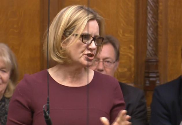 Former Home Secretary Amber