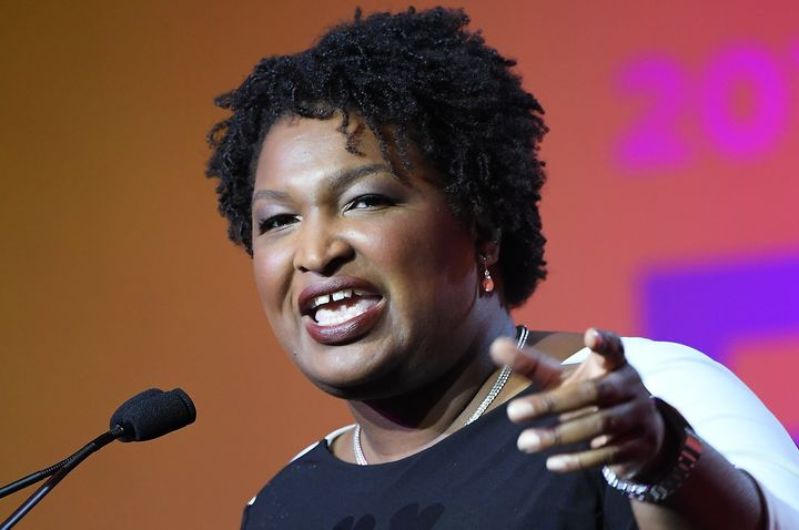 Democratic candidate for Georgia governor, Stacey Abrams.