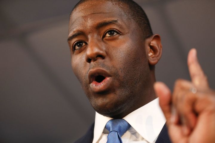 Andrew Gillum faces Trump loyalist Ron DeSantis in the Florida gubernatorial election.