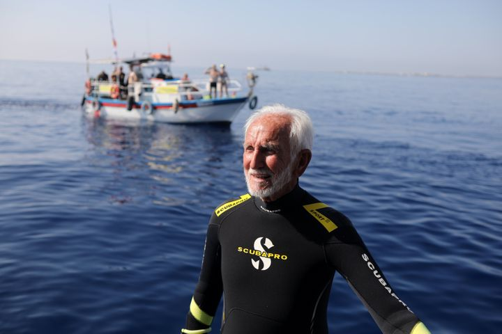 Ray Woolley has been an avid scuba diver for almost six decades.