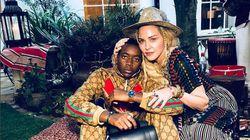 Madonna fête les 13 ans de son fils avec un groupe de musique