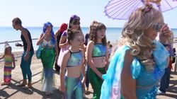UK Mermaids Assemble To Help Save The