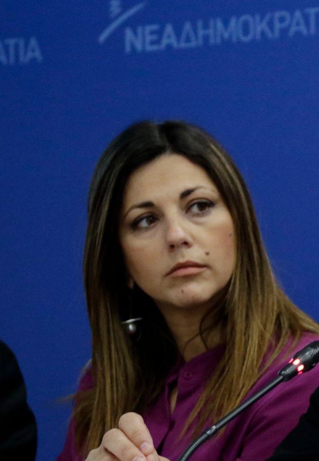 ΝΔ: Ας δώσει εντολή ο Τσίπρας να συλλάβουν τη Σοφία Ζαχαράκη. Απάντηση
