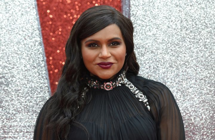 """Mindy Kaling attends the European premiere of the film """"Ocean's 8"""" in London in June."""