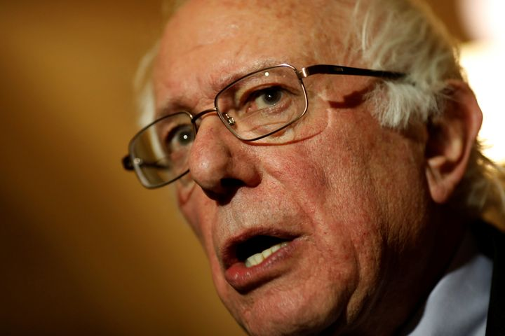 Bernie Sanders Zaps Trump For Working 'Night And Day — For Billionaires'