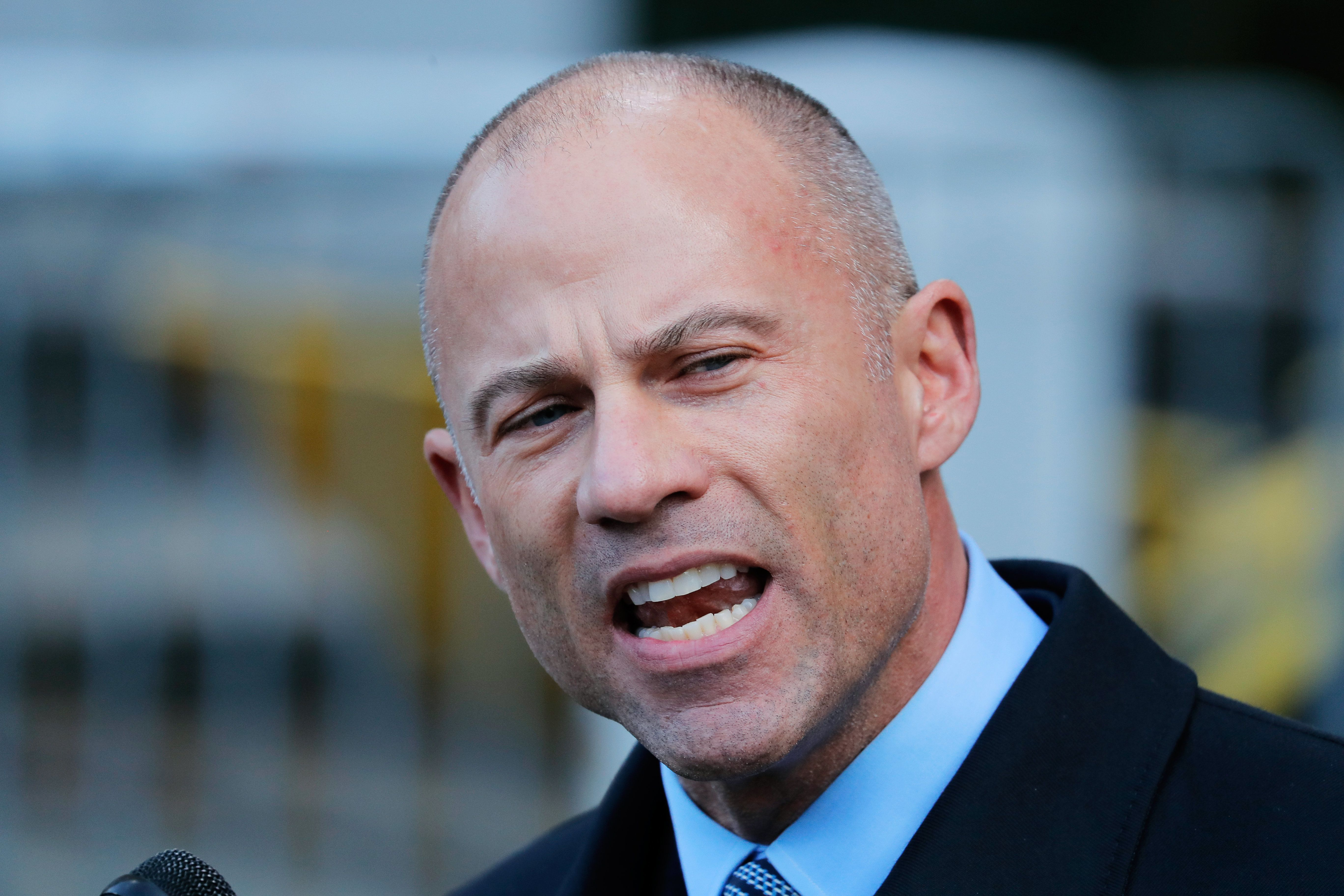 "<a href=""https://www.huffingtonpost.com/topic/michael-avenatti"">Michael Avenatti</a>, attorney for porn star <a href=""https:/"