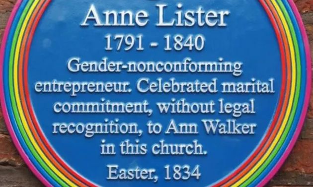 A tribute to Anne Lister in York is to be re-worded after