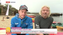 Richard Branson Insists Chris Evans' Move To Virgin Radio Was Motivated By 'Freedom, Not
