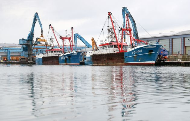 Scottish boats used to dredge scallops from the