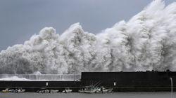 Typhoon Jebi Hits