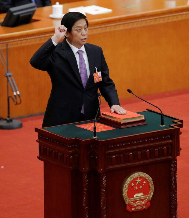 리잔수 전국인민대표대회(전인대) 상무위원장.