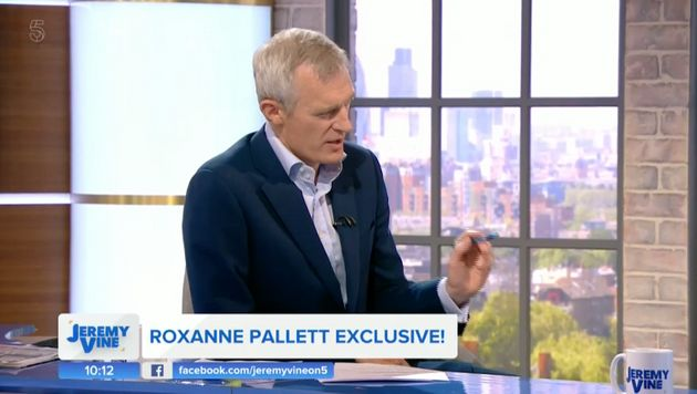Jeremy Vine on the first episode of his Channel 5