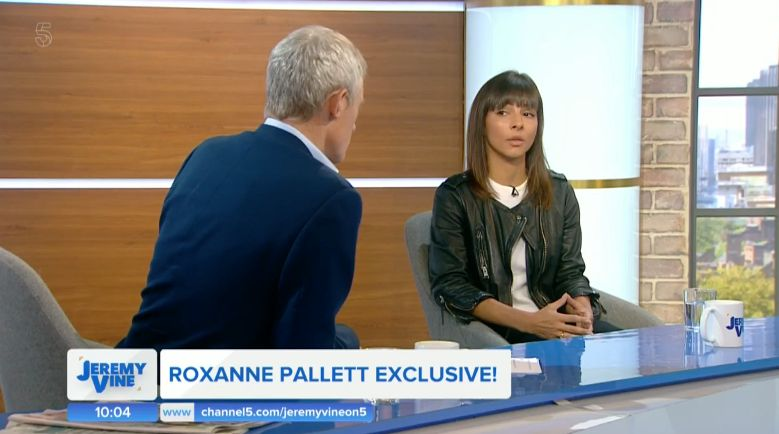 Roxanne speaks to Jeremy