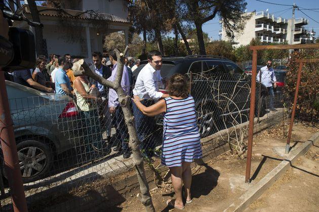 Συντονιστική επιτροπή κατοίκων στο Μάτι: Όλα γίνονται ανησυχητικά