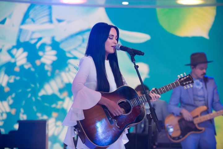 Country singer Kacey Musgraves is seen on March 30.