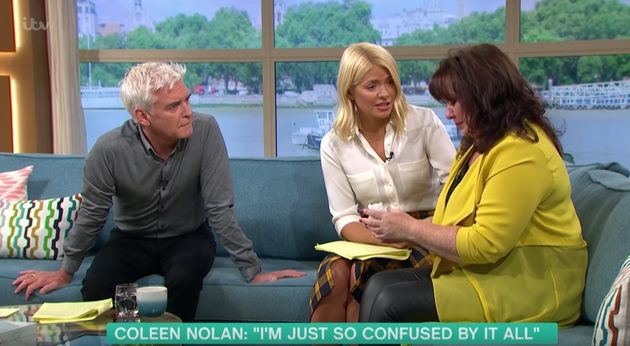 Holly Willoughby comforts Coleen on 'This