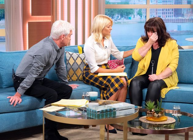 Coleen broke down in tears on yesterday's 'This Morning'