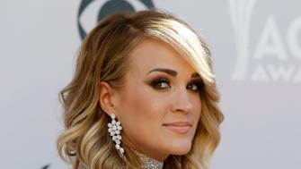 52nd Academy of Country Music Awards - Arrivals - Las Vegas, Nevada, U.S., - 02/04/2017 - Singer Carrie Underwood. REUTERS/Steve Marcus
