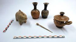Εντυπωσιακά ευρήματα σε αρχαίο νεκροταφείο στο