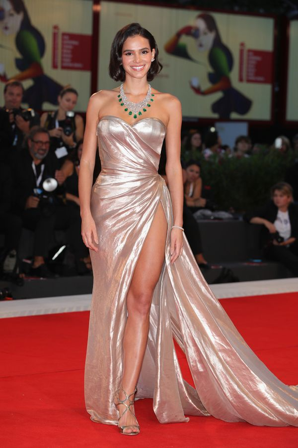 Marquezine wears Ralph and Russo at the