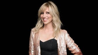 Debbie Gibson visits Build Series NYC on August 21, 2018 in New York. Photos by Noam Galai