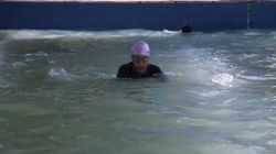 Life After ISIS: Iraqi Girls Learn To Swim In