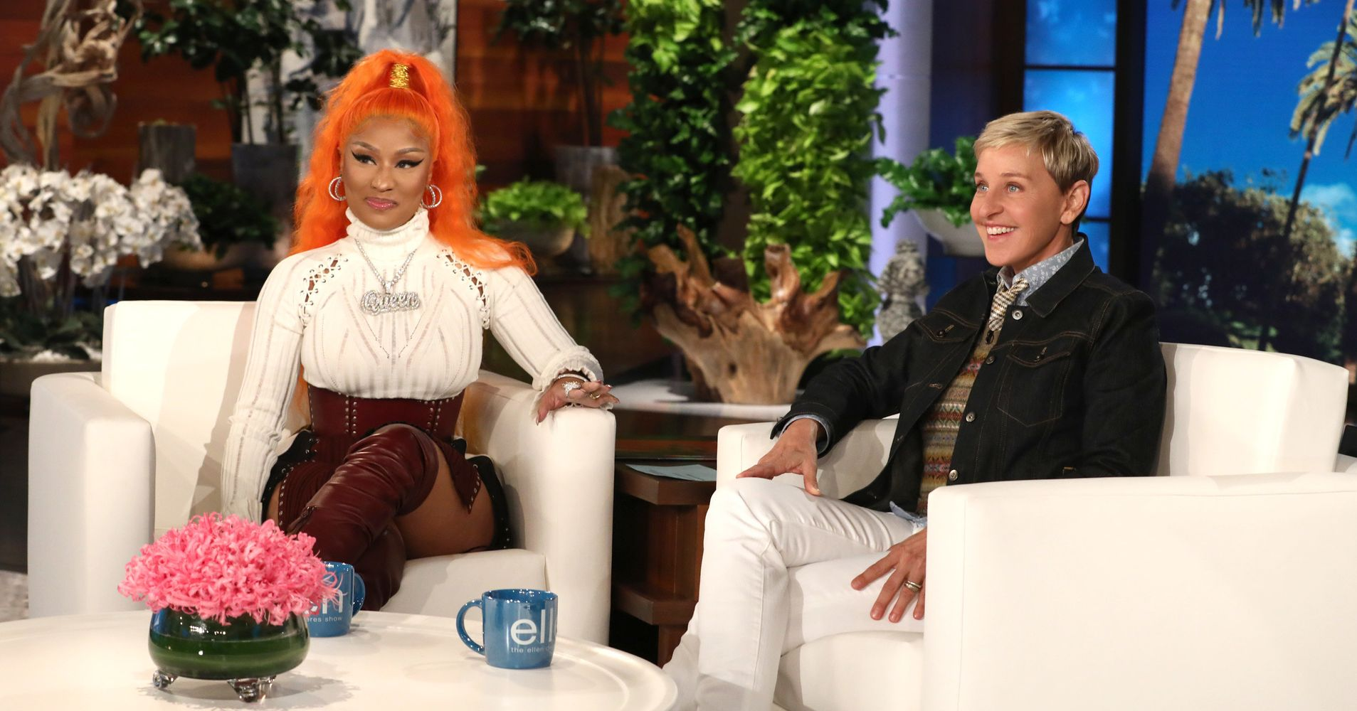 Nicki Minaj Reveals Surprising Detail About Her Love Life To Ellen DeGeneres
