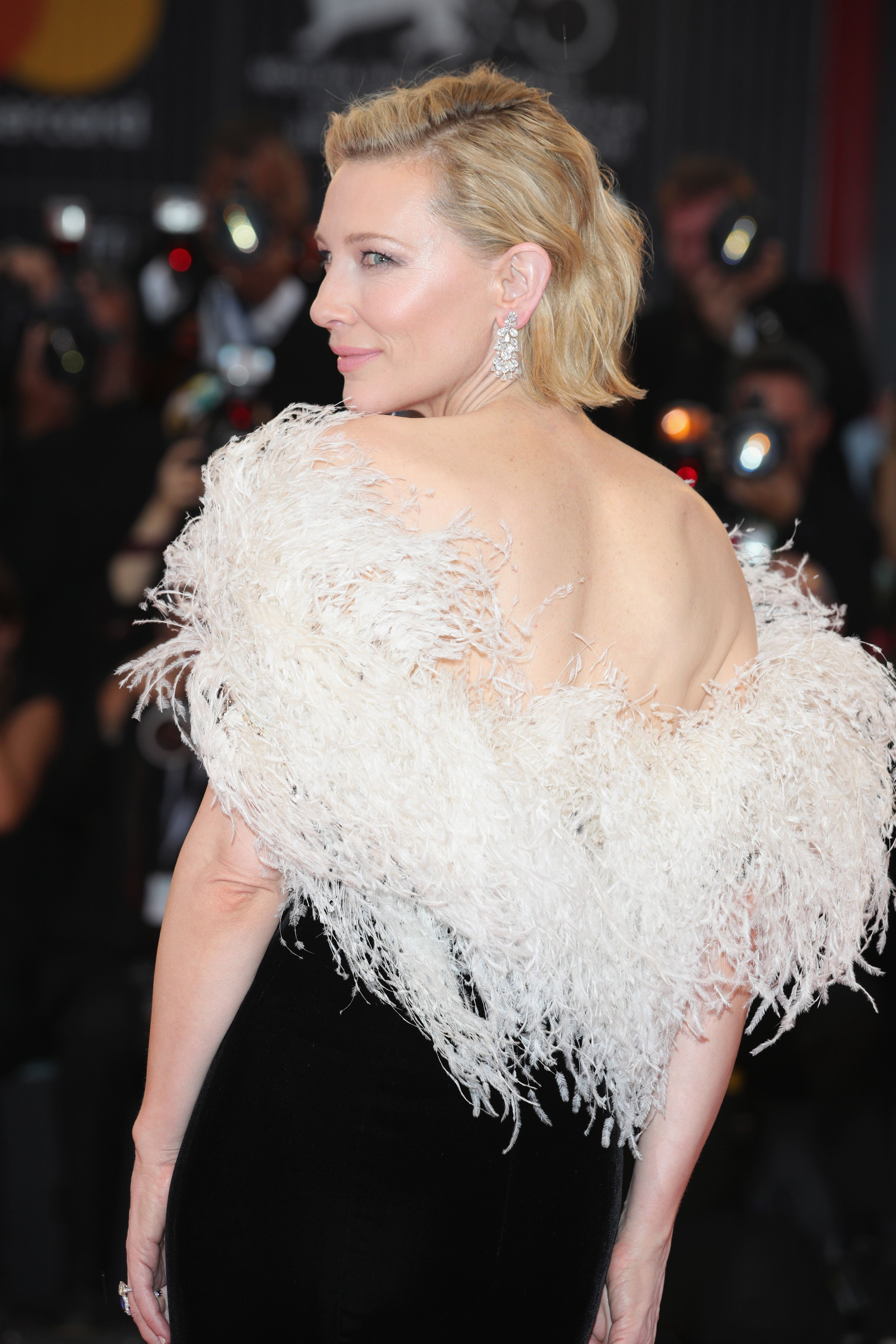 Cate Blanchett on the red carpet late last month at the Venice Film Festival.