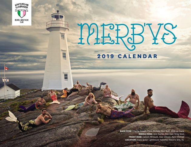 Proceeds from the Newfoundland and Labrador Beard and Moustache Club's 2019 MerB'ys calendar will...