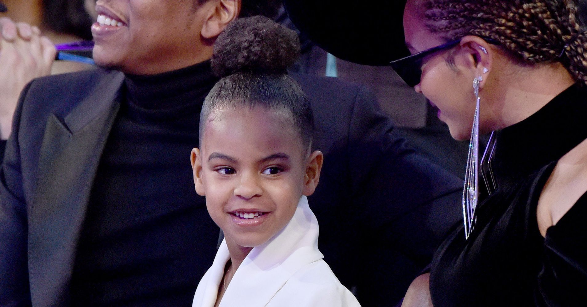 Blue Ivy Just Pulled An Adorable Prank On Her Grandma, Tina Lawson