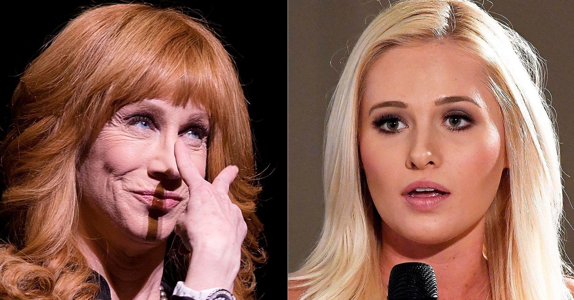 Kathy Griffin Tells Tomi Lahren To 'Go F**k Herself' In Scathing Tweet
