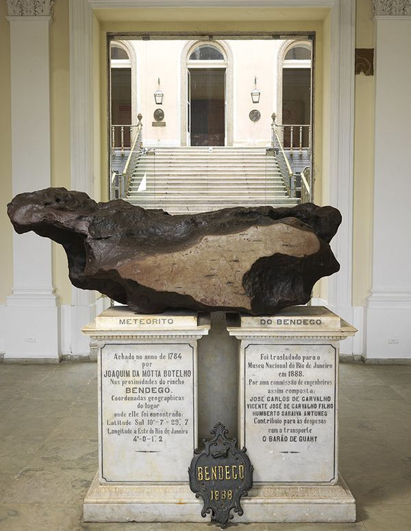 "The museum boasted the largest Brazilian meteorite and one of the largest in the world. <a href=""https://twitter.com/bandnews"