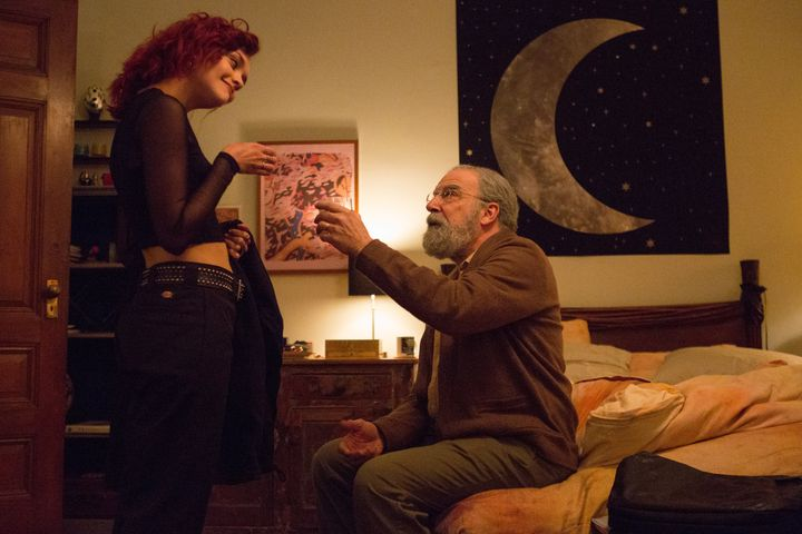 "Olivia Cooke and Mandy Patinkin in ""Life Itself."""