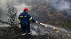 Πυρκαγιά στην περιοχή Κελεφά στην ανατολική